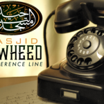 New Masjid Tawheed Phone Conference Line
